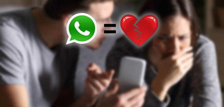 scopri un tradimento su whatsapp